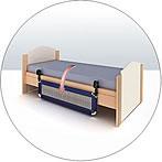 klappbares bettgitter xxl kiddys kinderkarussell. Black Bedroom Furniture Sets. Home Design Ideas