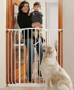 t rschutzgitter bzw treppenschutzgitter extra hoch 1. Black Bedroom Furniture Sets. Home Design Ideas