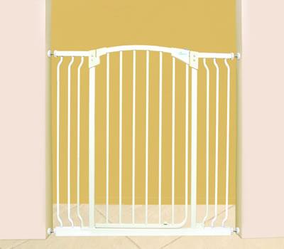 t r schutzgitter bzw treppen schutzgitter extra breit farbe wei kiddys kinderkarussell. Black Bedroom Furniture Sets. Home Design Ideas